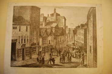 John Ralston, Views of the Ancient Buildings in Manchester (Manchester, 1823-5), plate 4: Chetham's Library