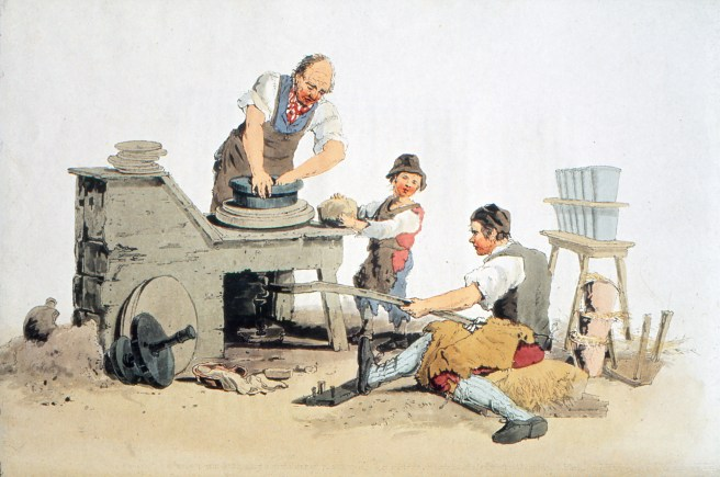 2u_trc_p369_the_potters_from_the_book_the_costume_of_great_britain_by_william_henry_pyne